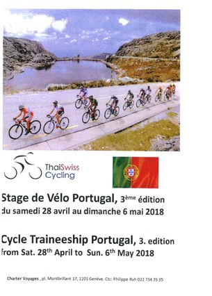 Cycle course Portugal - Thai Swiss Cycling